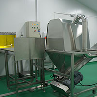 Image of Raw materials preparation